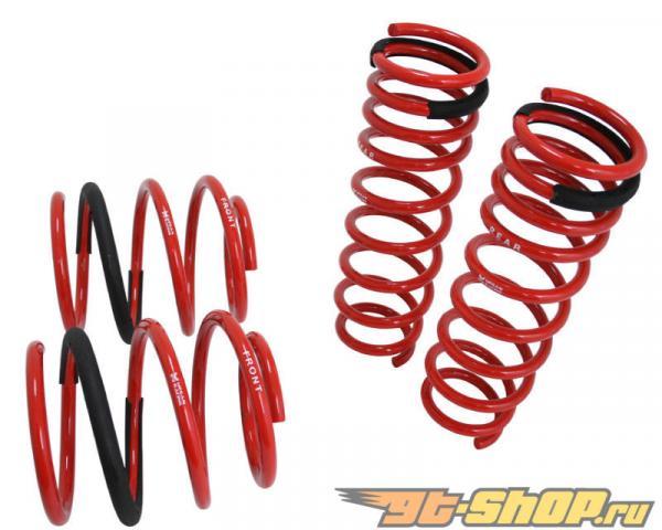 Megan Racing Красный Euro Version пружины для BMW 7 Series F01 09-15