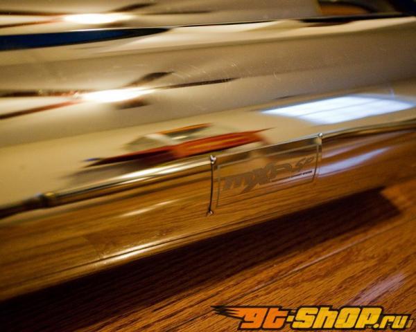MXP нержавеющий Dual Выхлопная система Mitsubishi Evolution X 08+