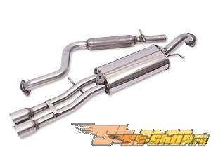 Neuspeed Выхлоп выхлоп w/DTM Tips Volkswagen Jetta IV 1.8T, VR6 03-04