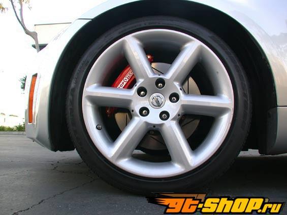 StopTech передний  15 Inch 6 поршневые Большой тормозной комплект Infiniti G37 Sport седан 6MT 08-09