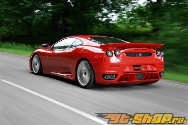 Диффузор на задний бампер Novitec на Ferrari 430 Modena 05+