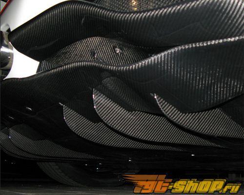 Воздухозаборники на карбоновый диффузор Novitec для Ferrari 458 Italia 10+