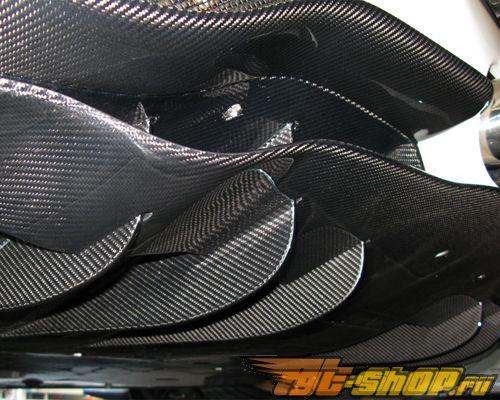 Карбоновый диффузор на задний бампер Novitec на Ferrari 458 Italia 10+