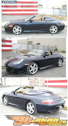 Обвес по кругу NR Auto Turbo Стиль для Porsche 996 99-01