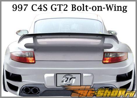 Спойлер GT2 Стиль для Porsche 997 05+