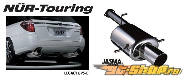 Blitz NUR-Touring выхлоп-- SG5 EJ20T [BL-68020]