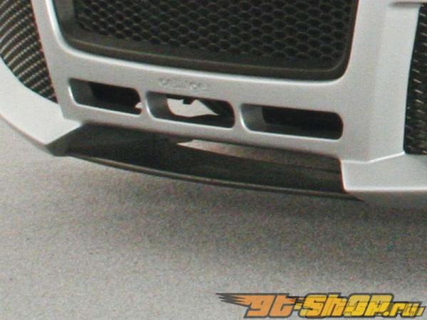 Карбоновая губа на передний бампер Oettinger на Audi A3 8P Sportback 05+