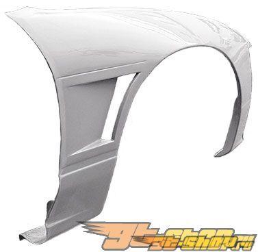 Передние крылья Origin 20mm на Nissan 180SX