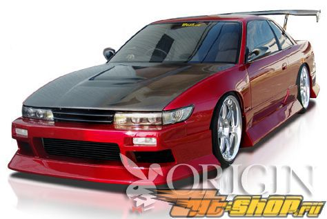 Обвес по кругу Origin Aggressive II для Nissan 240SX S13 89-94