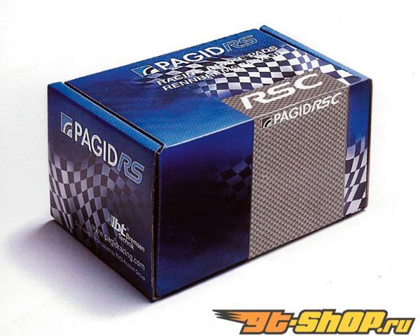 Pagid RSC1 Track Day Compound передние тормозные колодки для керамические Brakes Porsche Boxster S 987 05-12