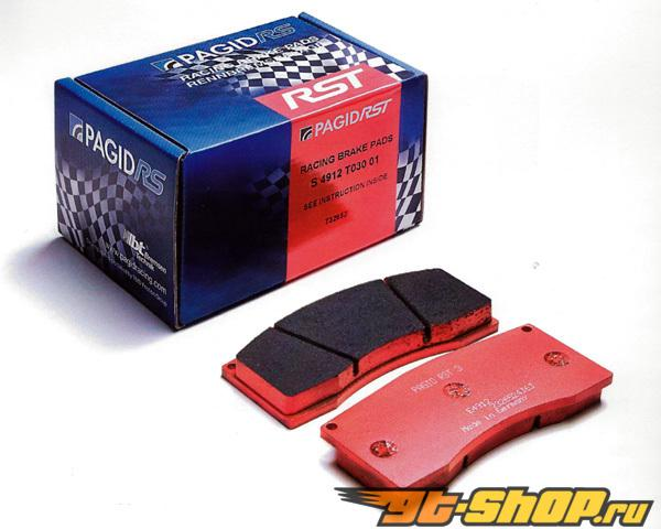 Pagid RST1 High Friction Compound задние тормозные колодки Porsche 996 GT3 R 99-00 | GT3 RS 03-05