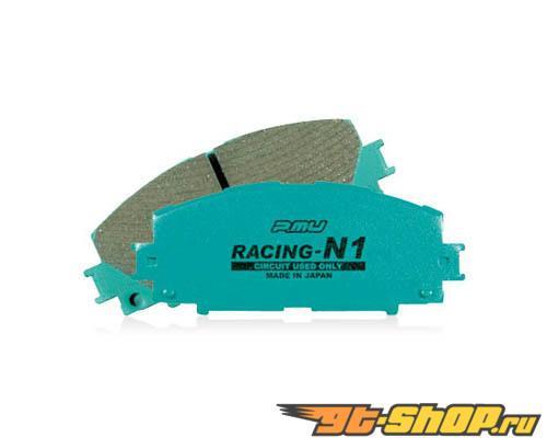 Project Mu Racing-N1 передние тормозные колодки Mitsubishi Evo VIII-X 03-09