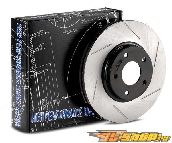Power Slot задний Правый тормозные диски Audi A4 FWD 96-01