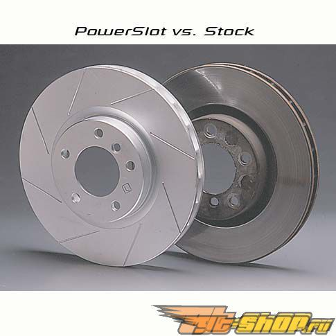 Power Slot передний  Левый тормозные диски BMW 525xi E60 06-07