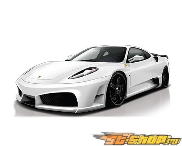 Veilside Premier 4509 Side Intake Ducts Ferrari F430 04-09