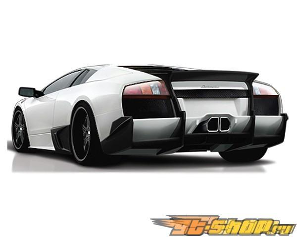 Задний бампер Veilside Premier 4509 на Lamborghini Murcielago LP640 2006-2010