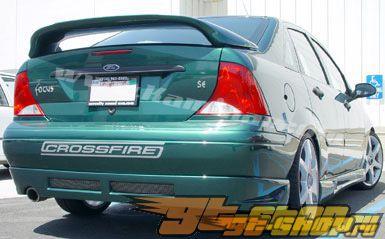 2000-2007 Ford Focus 4-Двери задний Skirt - PUR
