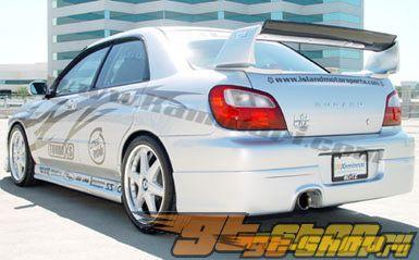 Накладка на задний бампер для Subaru Impreza WRX 2002-2003