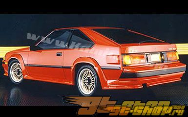 Накладка на задний бампер на Toyota Celica 1984-1985