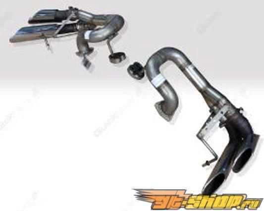 Quicksilver Sport нержавеющий Steel выхлоп Pipes Mercedes-Benz Mclaren SLR C199 03-09