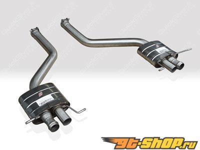 Quicksilver спортивная задняя секция глушителя для Bentley Continental GT and GTC V8 2012+
