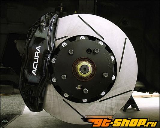 RacingBrake Two-части передний  Rotor Slotted Acura CL 3.2 V6 01-03