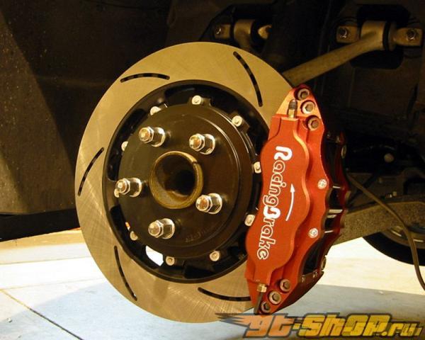 RacingBrake Two-части задний Rotor Slotted Mazda RX8 04-09