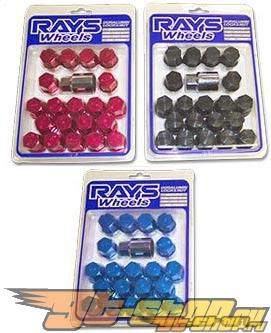 Rays Engineering Lug Nuts - Anodized Красный