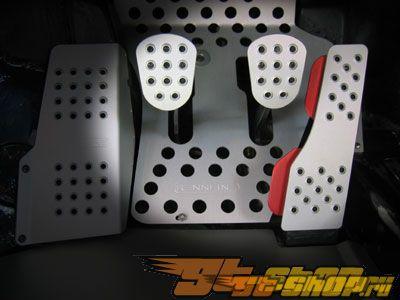 Rennline Aluminum Pedal Set 3 части Porsche 996 98-05