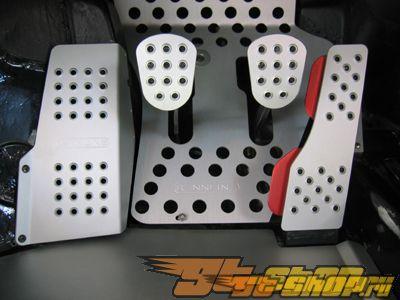 Rennline Aluminum Pedal Set With Dead Pedal 4 части Porsche 996 98-05