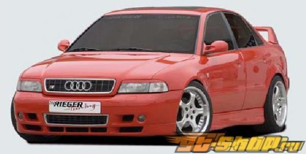 Правый порог Rieger Infinity Deep Version для Audi A4 B5 95-01