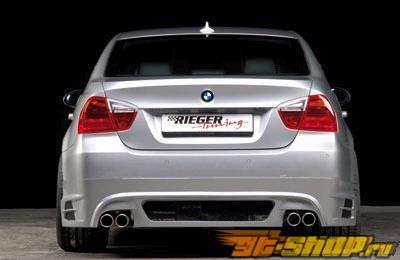 Обвес по кругу Rieger на BMW E90 седан 06-08
