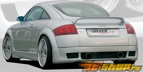 Левый порог Rieger Infinity на Audi TT 8N 00-06