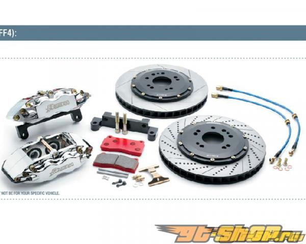 Rotora задний 2pc 15in тормозной комплект 4pot Chevy Tahoe/Yukon 07+