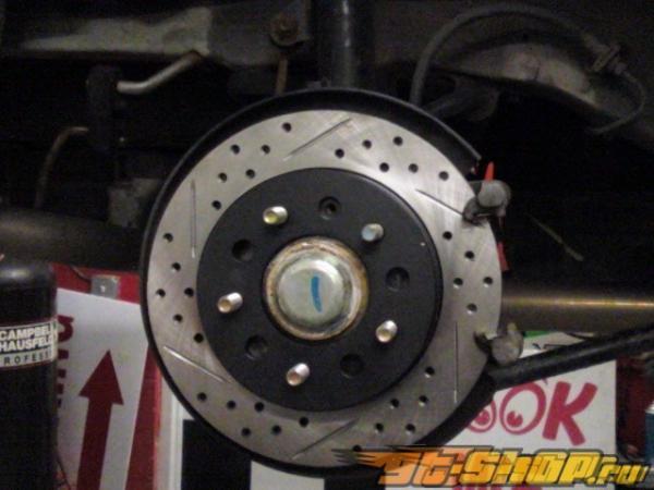 Rotora Rr.Rt. Drilled & тормозные диски Mercedes E320-430 94-95