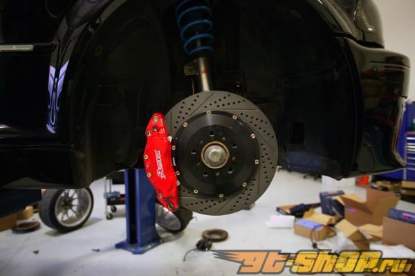 Rotora передний  2pc 14in тормозной комплект 6piston BMW E46 M3 01-06