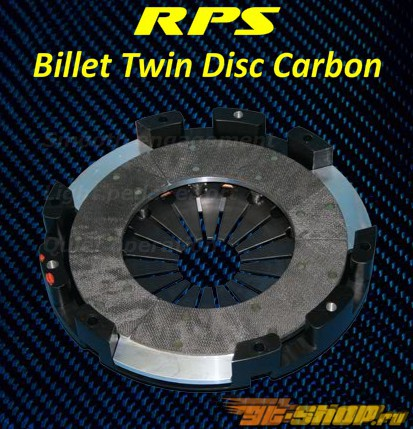 RPS Billet Strapless Twin Disk Карбон  Сцепление  with Steel Fly Chevrolet Camaro F-Body 93-02