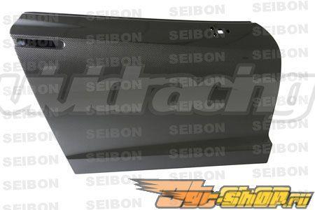 Карбоновые двери в стандартный стиле для Nissan R35 GTR 2009-2010