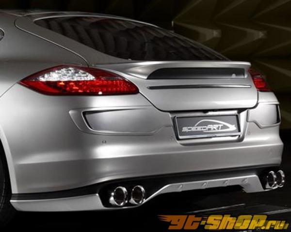 Диффузор на задний бампер SpeedART PS9 для Porsche Panamera 10+