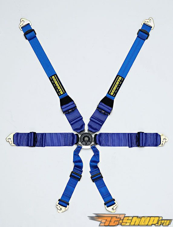 Schroth Racing Profi III 6 HANS Красный PD Belt LA-Bolt