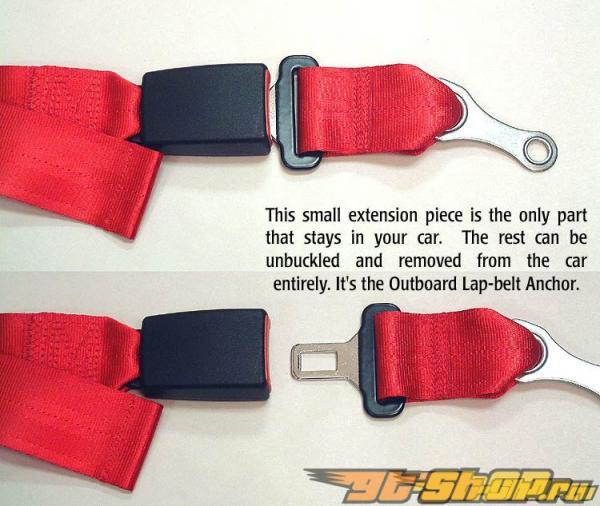 Schroth Racing Quick Fit серебристый LT Belt BMW E39 95-04