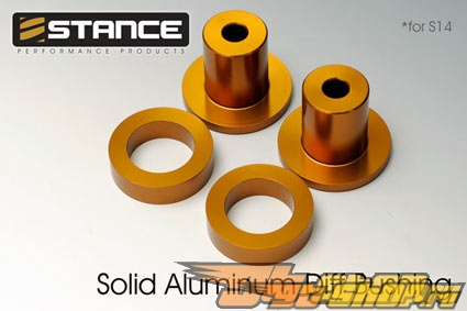 Stance Aluminum Solid Differential Bushing Set - Nissan 240SX 95-97 (S14)