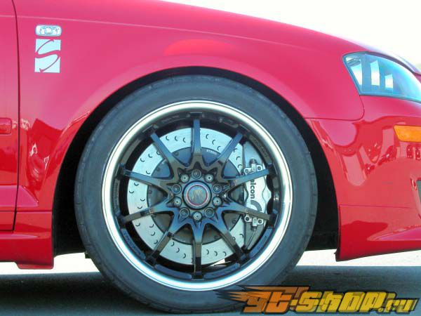 STaSIS 14.5in 4piston Mono передний  тормозной комплект Audi A3 05-06
