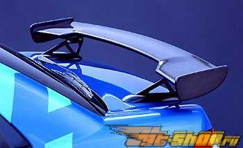 Карбоновый спойлер STI на Subaru WRX STI