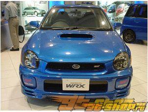 Решётка радиатора STI GDB Стиль на Subaru WRX 02-03