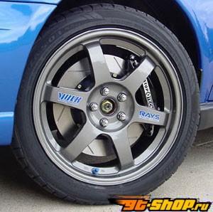 StopTech передний  14 Inch 6 поршневые Большой тормозной комплект Dodge Viper with ABS 01-02