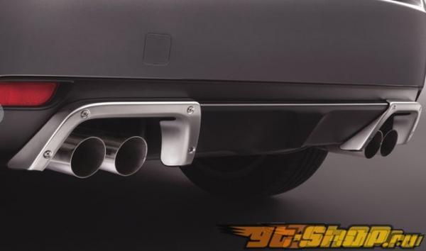 Диффузор на задний бампер Subaru JDM для Subaru STI 08+