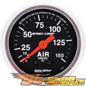 Auto Meter Sport-Comp Датчик : Air Pressure 0-150 PSI #18711