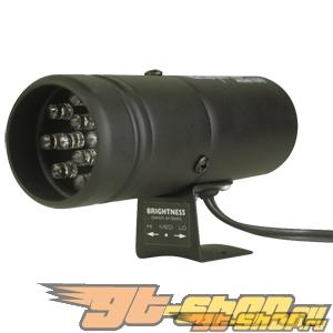 Auto Meter 12 LED Super-Lite Shift-lite: Чёрный #21255