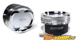 Manley Performance Pistons w/ Rings (8.5:1 C.R.): Mitsubishi 4G64 w/ 4G63 передняя (22mm Pin) #22678